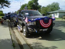 4th of July Parade in Belle Fourche , SD , 2010